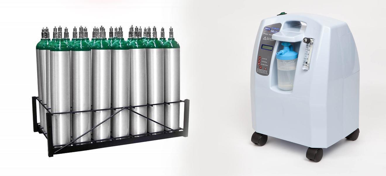 تفاوت اکسیژن ساز با کپسول اکسیژن